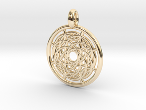 Hermippe pendant in 14K Yellow Gold