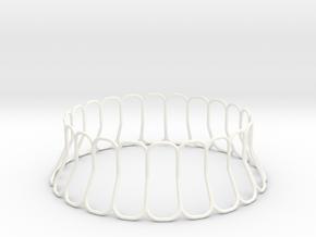 Nuba in White Processed Versatile Plastic