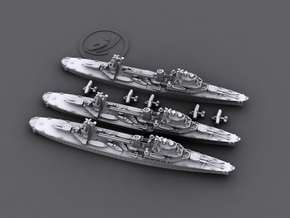 1/4800 IJN Katori-class light cruisers in Smooth Fine Detail Plastic