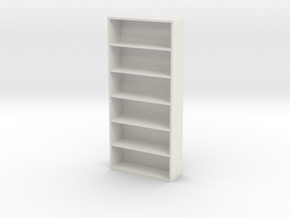 Home Book Shelf in White Natural Versatile Plastic