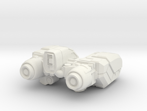 VoyagerMK-VI in White Strong & Flexible