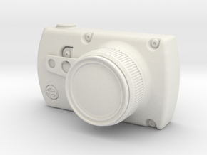 Harley Davidson Camera Concept in White Natural Versatile Plastic