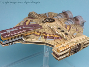 XS Light Freighter (Small) in Smooth Fine Detail Plastic