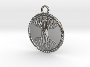 Tree Of Life in Polished Silver