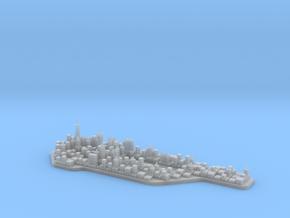 Mini-Manhattan Model in Smooth Fine Detail Plastic