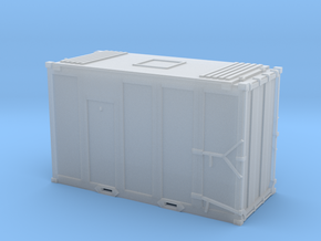 N scale 1/160 MSW Trash Container in Frosted Ultra Detail