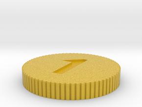 Coin in Full Color Sandstone