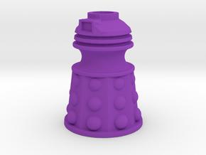 Dalek Post Version B in Purple Processed Versatile Plastic