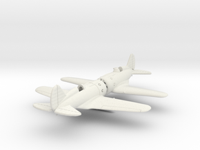 1/200 Polikarpov I-16 x2 in White Strong & Flexible
