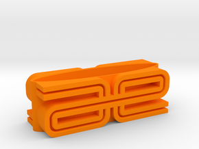 RC10 Display Stand in Orange Processed Versatile Plastic