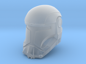 "Republic Commando Helmet (6"" Scale) in Smooth Fine Detail Plastic"