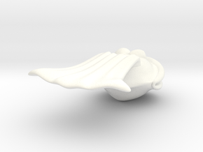 SuperClam White in White Processed Versatile Plastic