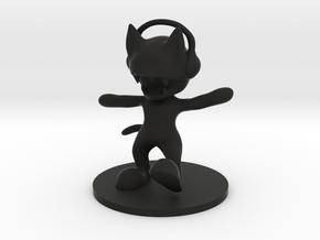 MonsterCat in Black Strong & Flexible