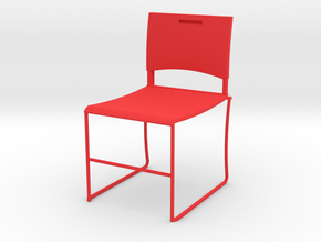 HTLA Red Chair 10% in Red Processed Versatile Plastic