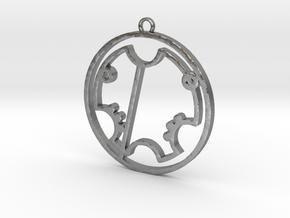 Trevor - Necklace in Natural Silver
