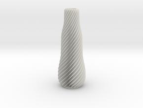 SPIRAL-01 in White Natural Versatile Plastic