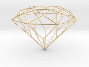 Diamond Brilliant Object in 14K Yellow Gold