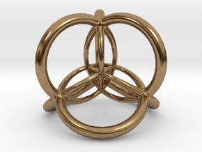 Lucid Dream Totem in Natural Brass