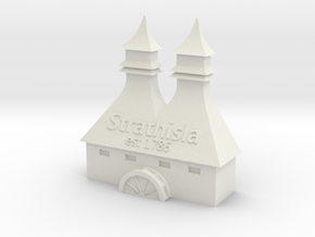 Strathisla Distillery in White Natural Versatile Plastic