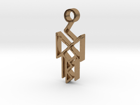 Runes of victory in Natural Brass