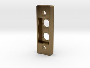 Low profile control box (V2) in Natural Bronze
