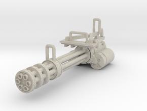 Gatling gun in Natural Sandstone