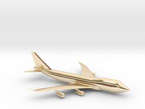 B747 in 14K Yellow Gold