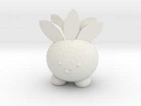 Oddish in White Natural Versatile Plastic