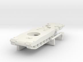 N Scale South Korean K1A1 Tank in White Natural Versatile Plastic