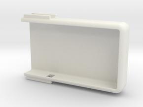 NightScout Case, Dexcom G4, Common End in White Natural Versatile Plastic