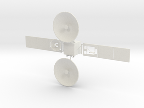 Tdrs Tracking and Data Relay Satellite in White Strong & Flexible