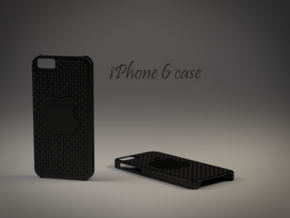 Iphone 6 Case in Black Natural Versatile Plastic