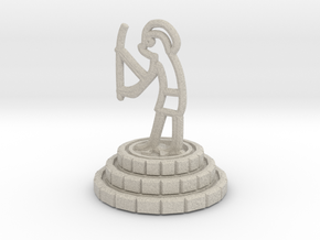 Knight of chess in Natural Sandstone