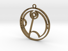 Tabitha - Necklace in Polished Bronze