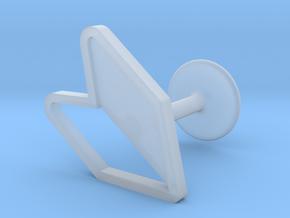 JDM Cufflink in Smooth Fine Detail Plastic