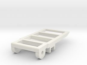 Ramp 1 carriers for the Construction and Forestry  in White Natural Versatile Plastic