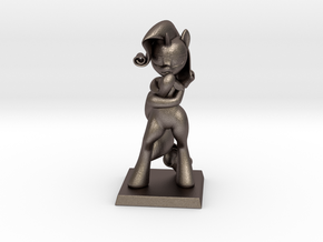 My Little Pony - Fabulous Rarity 17cm in Polished Bronzed Silver Steel