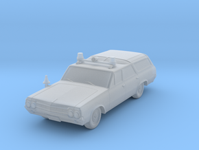 Fire Chief's Car (1:64) in Smooth Fine Detail Plastic