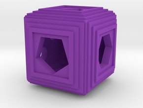 Dice87 in Purple Processed Versatile Plastic