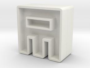 Icon #9 in White Natural Versatile Plastic