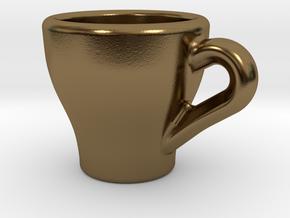 Espresso Charm in Polished Bronze