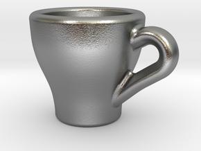 Espresso Charm in Natural Silver
