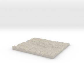 Model of Funtensee in Natural Sandstone