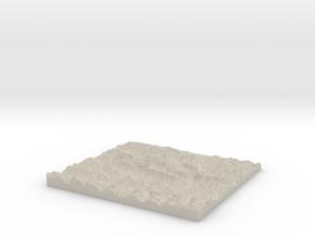 Model of Funtensee in Natural Sandstone