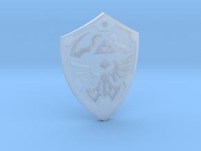 Hylian Shield - Legend of Zelda in Smooth Fine Detail Plastic
