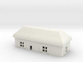 1/600 Village House 6 in White Strong & Flexible