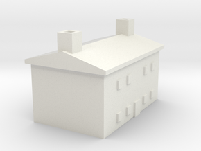1/600 Farm House 2 in White Natural Versatile Plastic