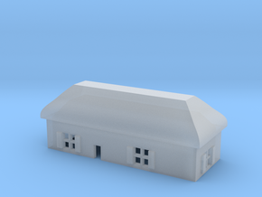 1/600 Village House 6 in Smooth Fine Detail Plastic