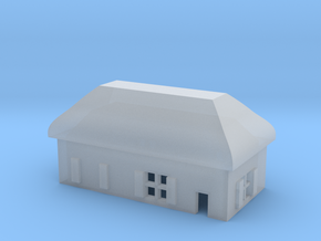 1/600 Village House 5 in Smooth Fine Detail Plastic