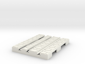 P-9-165st-short-straight-1a in White Natural Versatile Plastic